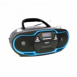 Naxa NPB-257 Portable MP3/CD Player, AM/FM Stereo Radio &amp