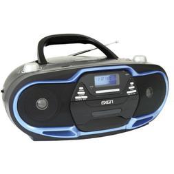 Naxa NPB257 Portable MP3/CD Player, AM/FM Stereo Radio & USB
