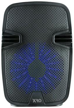 "QFX PBX-82 8"" Rechargeable Party Speaker +TWS Bluetooth +USB"