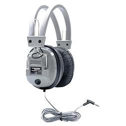HamiltonBuhl SC-7V SchoolMate Deluxe Stereo Headphone with 3