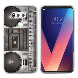 Slim-Fit TPU Gel Protector Phone Case for LG V30 - Boombox