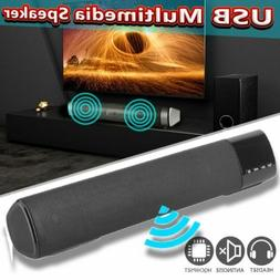 Sound Bar subwoofer USB AUX MP3 Music Player Boom Box for Ph