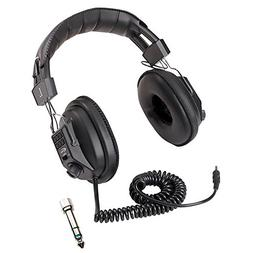 Switchable Stereo/Mono Headphone with earcup volume control
